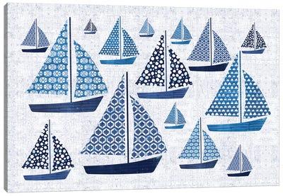 Sunday On The Coast I Canvas Art Print