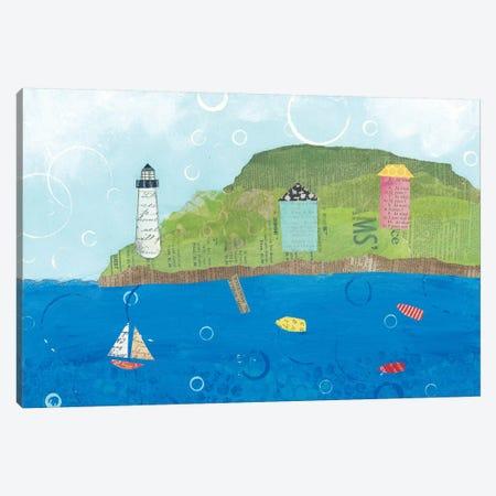Coastal Harbor I Canvas Print #WAC5792} by Courtney Prahl Canvas Wall Art