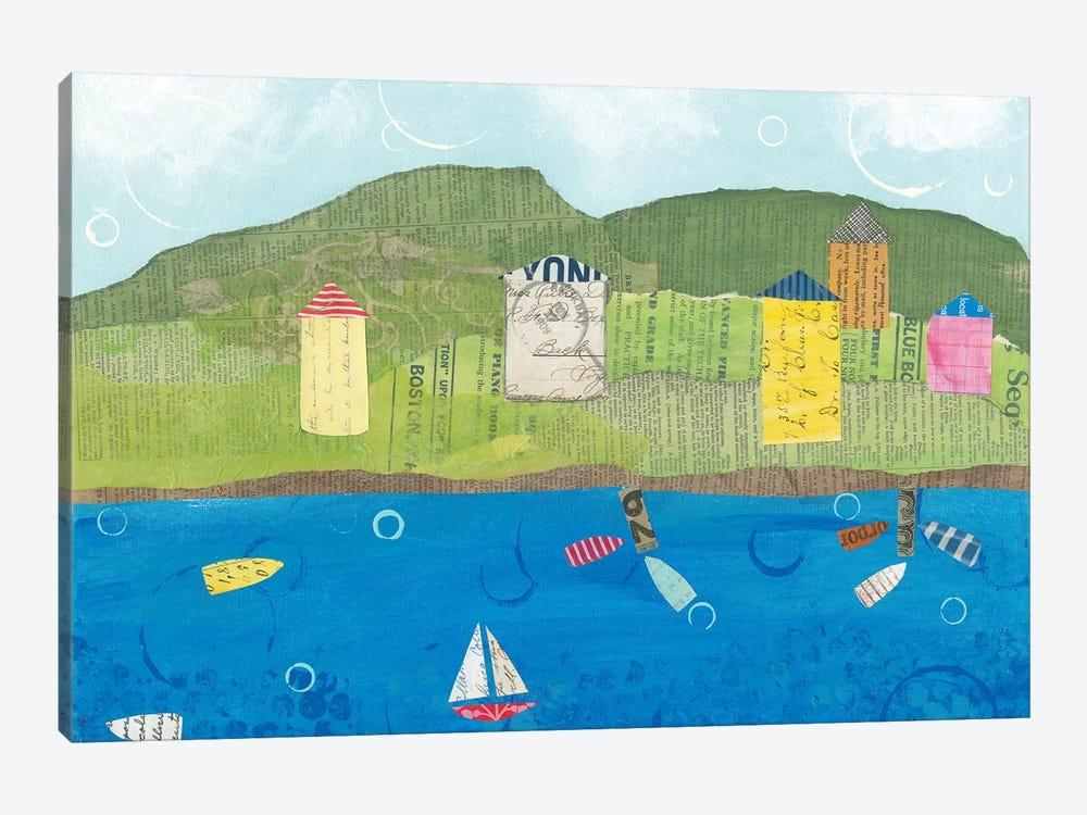 Coastal Harbor II by Courtney Prahl 1-piece Art Print