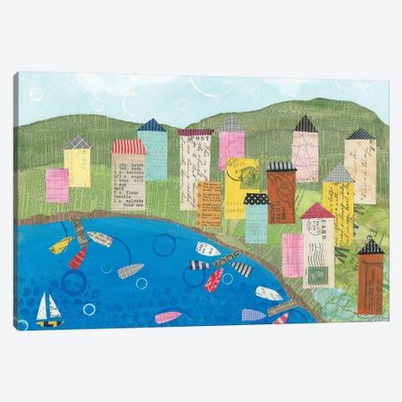 Coastal Harbor III Canvas Print #WAC5794} by Courtney Prahl Art Print