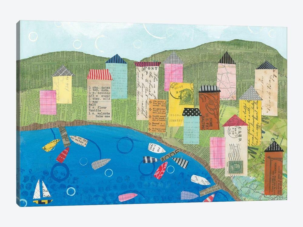 Coastal Harbor III by Courtney Prahl 1-piece Canvas Artwork
