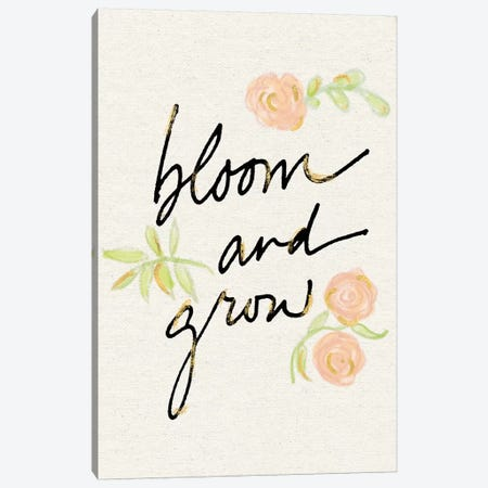 Bloom And Grow Canvas Print #WAC5795} by Sue Schlabach Canvas Art Print
