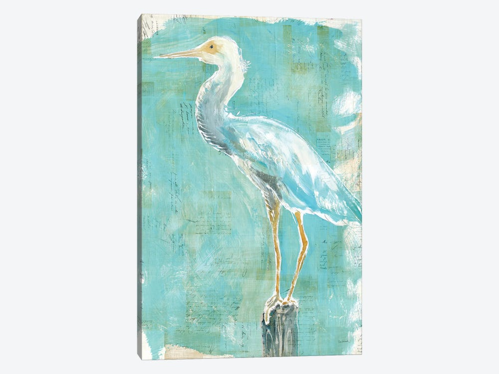 Coastal Egret II by Sue Schlabach 1-piece Art Print