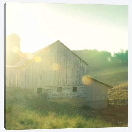 Farm Morning II Canvas Print #WAC5799} by Sue Schlabach Canvas Wall Art