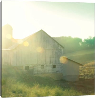 Farm Morning II Canvas Art Print