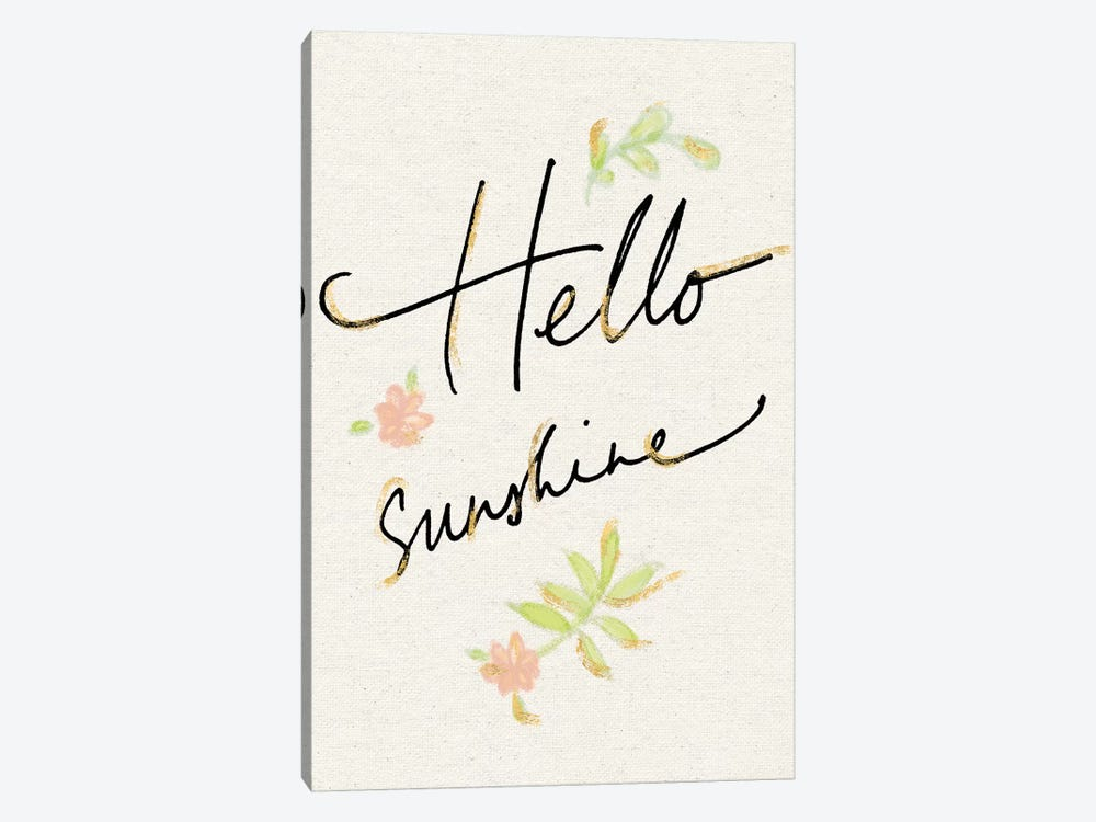 Hello Sunshine by Sue Schlabach 1-piece Art Print