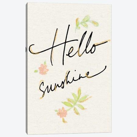 Hello Sunshine Canvas Print #WAC5802} by Sue Schlabach Canvas Wall Art