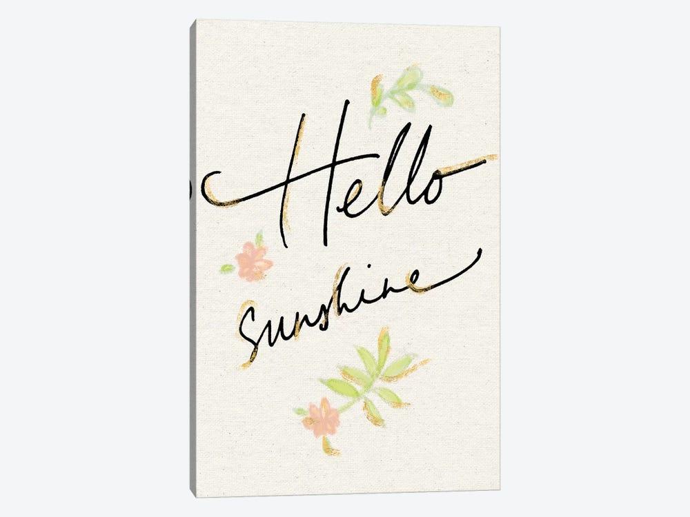 Hello Sunshine by Sue Schlabach 1-piece Art Print