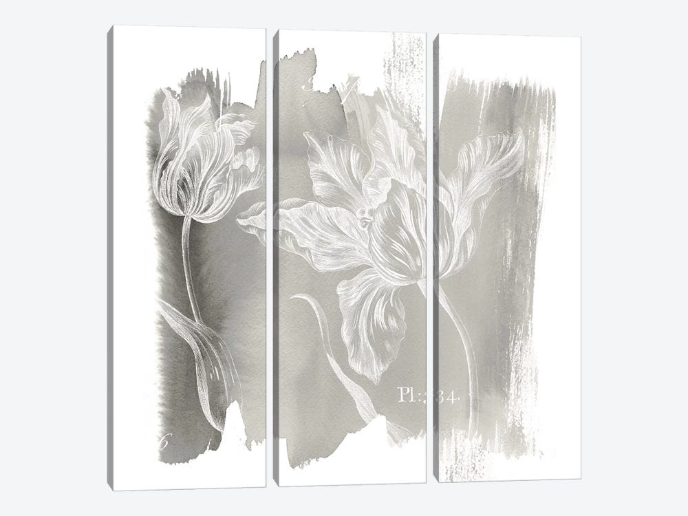 Neutral Water Wash I by Sue Schlabach 3-piece Canvas Artwork