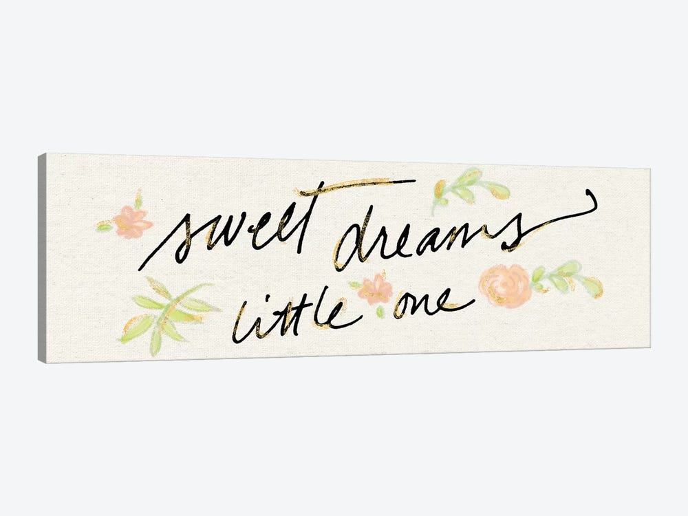 Sweet Dreams Little One by Sue Schlabach 1-piece Canvas Artwork