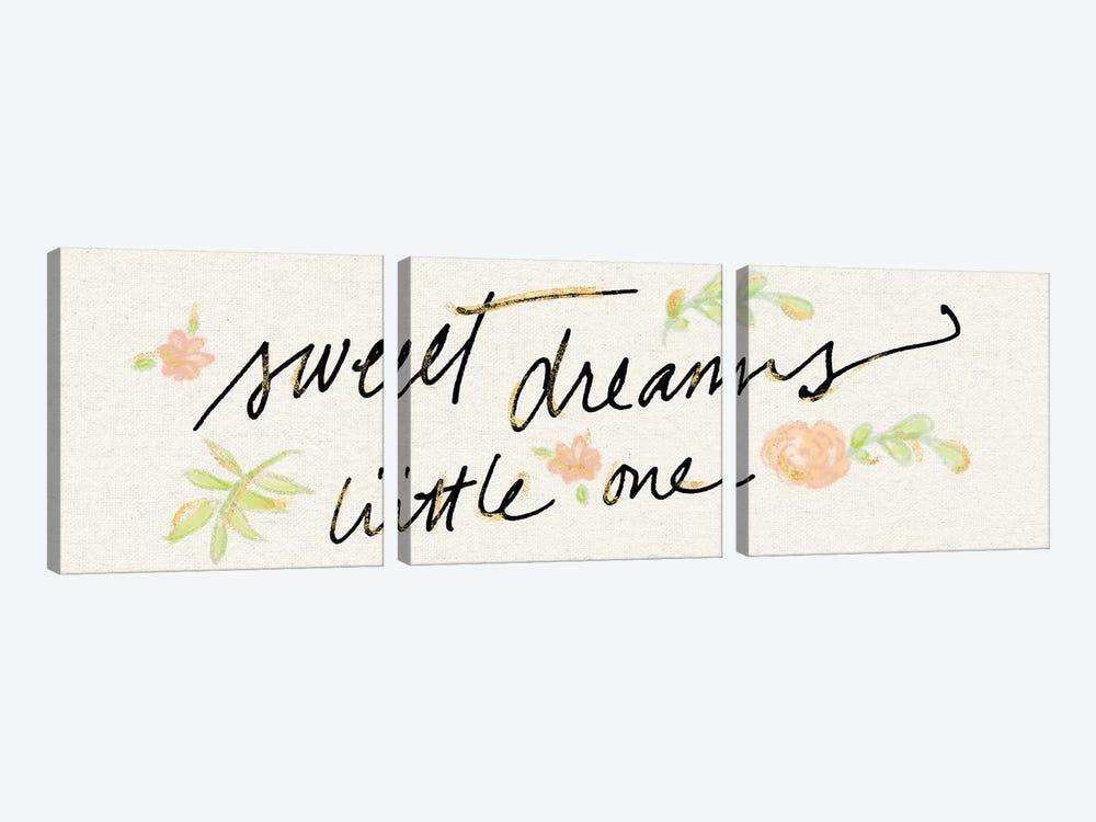 Sweet Dreams Little One by Sue Schlabach 3-piece Canvas Art