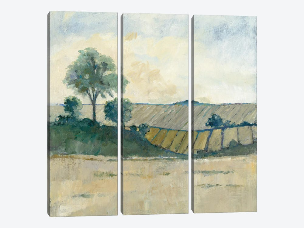Fields Before The Storm by Avery Tillmon 3-piece Canvas Wall Art