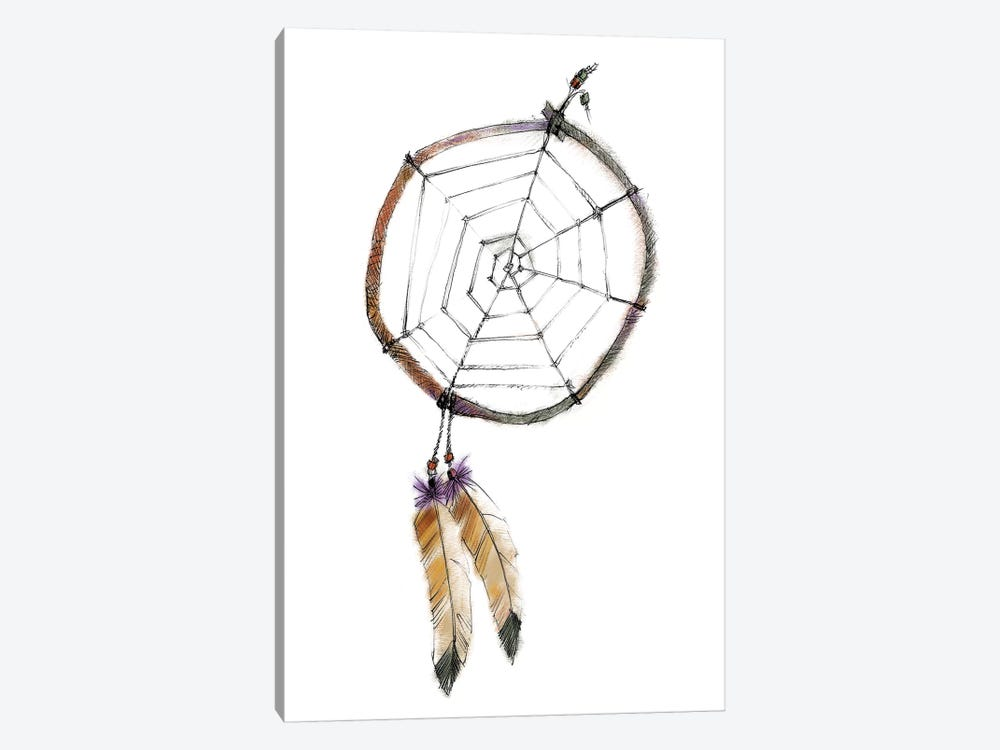 Indian Dreamcatcher by Avery Tillmon 1-piece Canvas Print