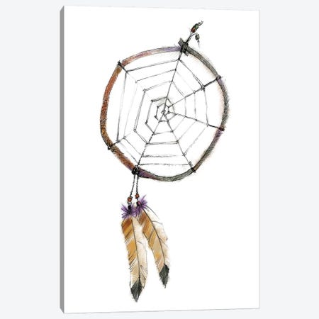 Indian Dreamcatcher Canvas Print #WAC5811} by Avery Tillmon Art Print