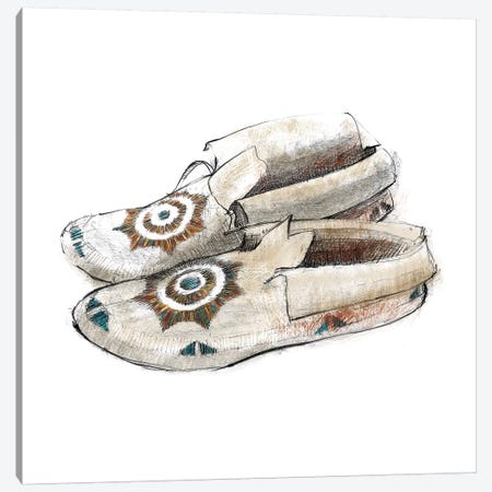 Indian Moccasins Canvas Print #WAC5812} by Avery Tillmon Art Print