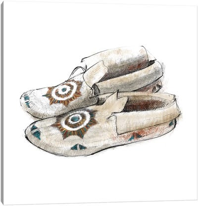 Indian Moccasins Canvas Art Print