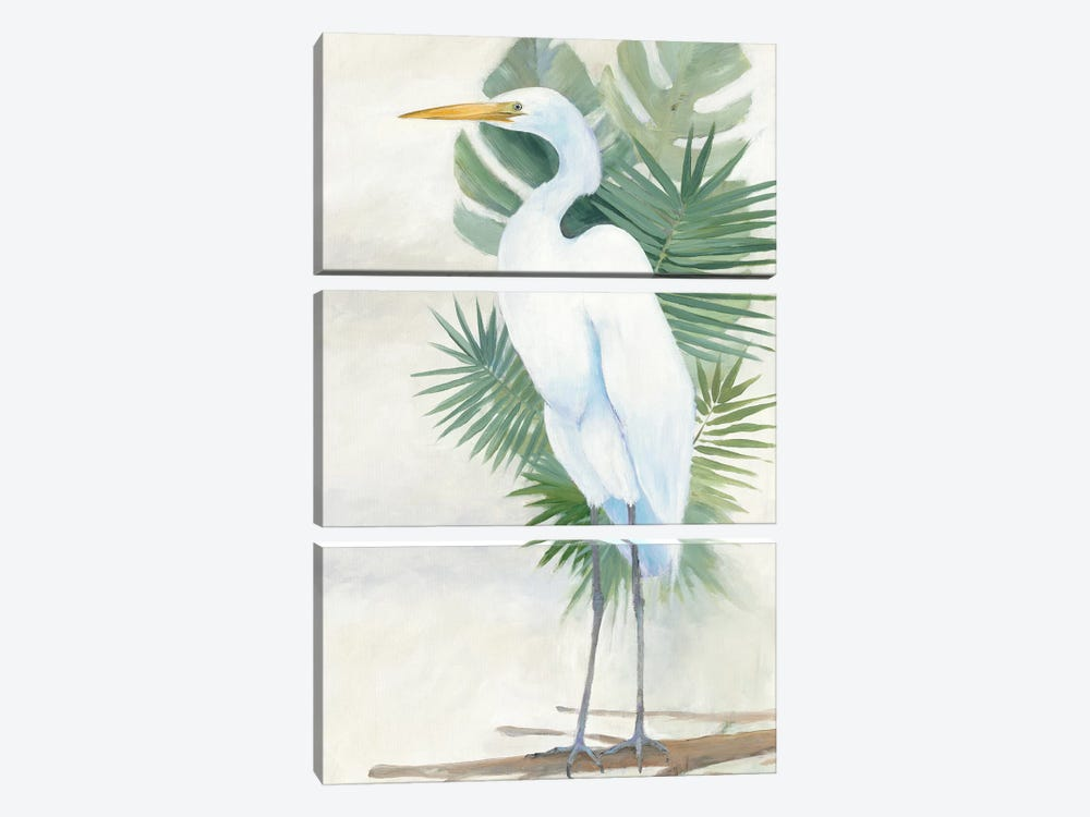 Standing Egret II by Avery Tillmon 3-piece Art Print