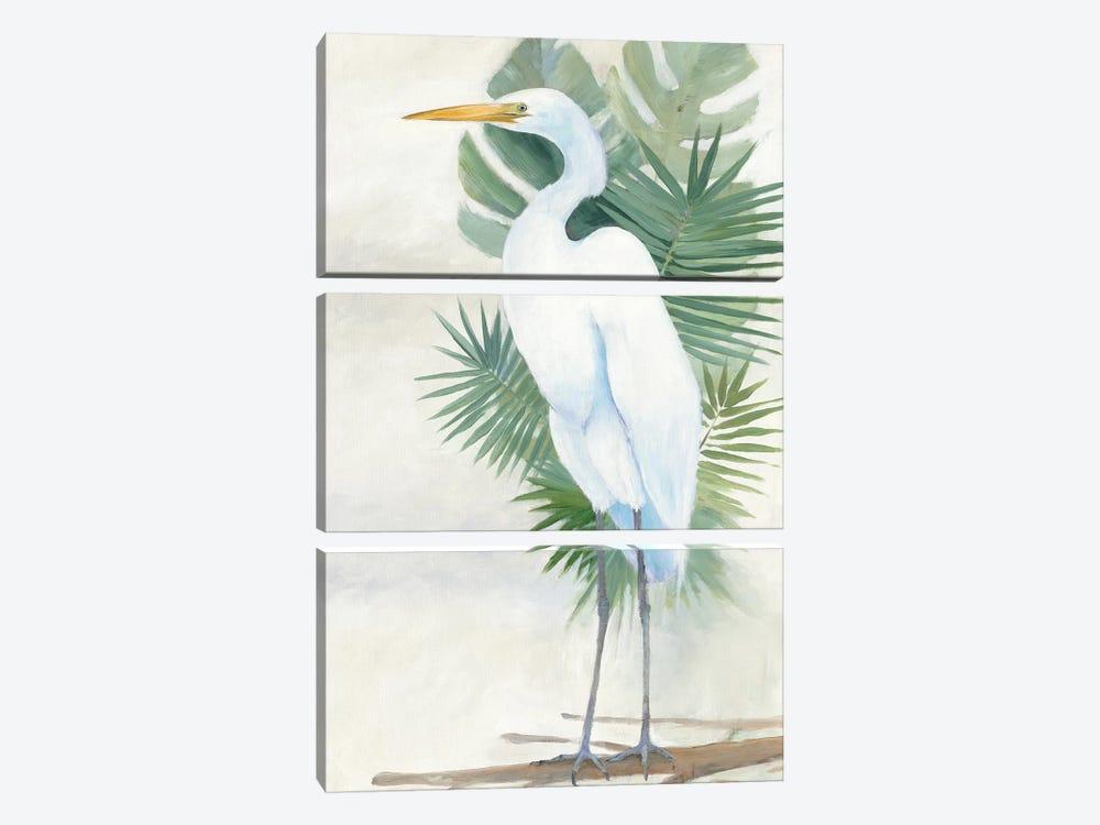 Standing Egret II by Avery Tillmon 3-piece Art Print