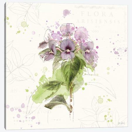 Floral Splash III Canvas Print #WAC5820} by Katie Pertiet Canvas Wall Art