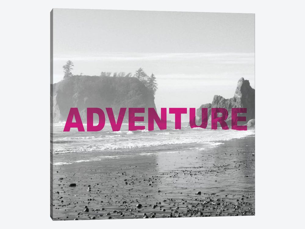 Bold Adventures V by Laura Marshall 1-piece Canvas Print