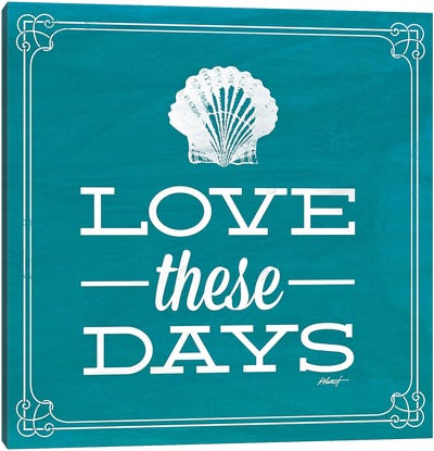 Love these Day Blue Canvas Print #WAC583