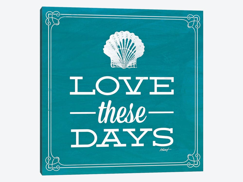 Love these Day Blue by Katie Pertiet 1-piece Art Print