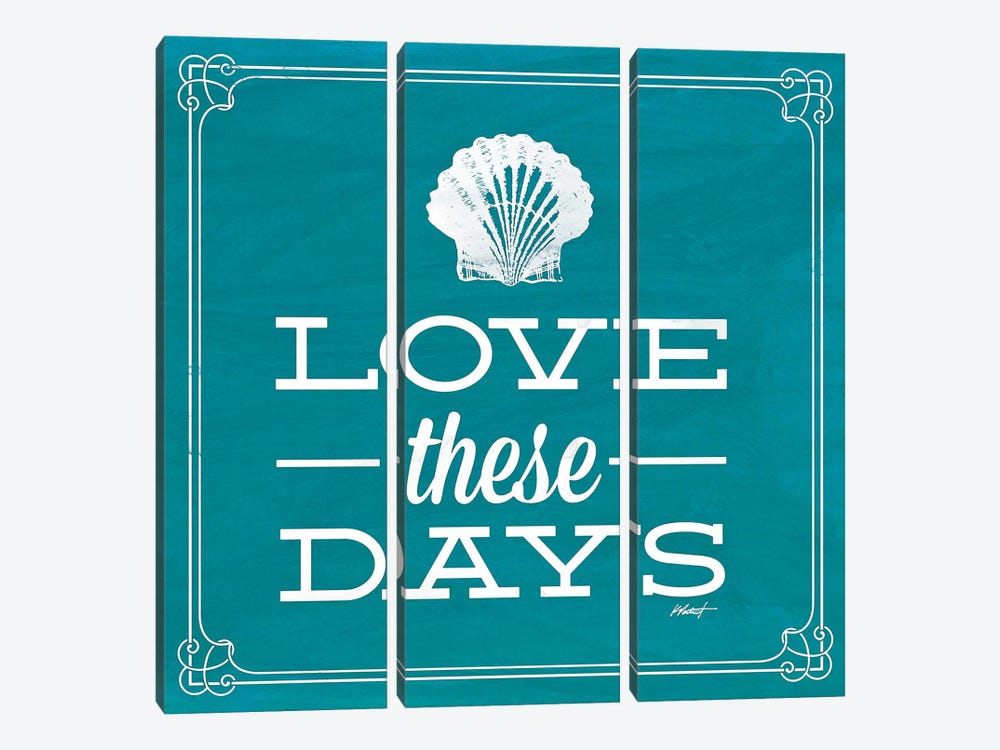 Love these Day Blue by Katie Pertiet 3-piece Art Print