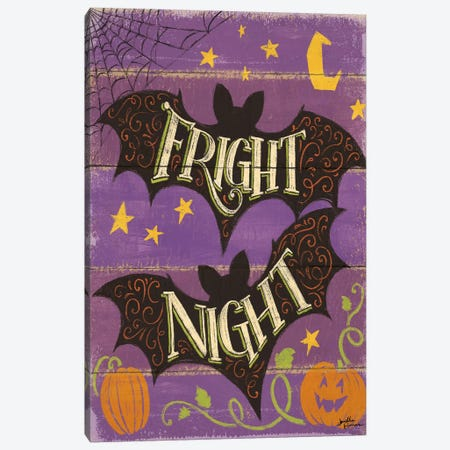 Fright Night III Canvas Print #WAC5843} by Janelle Penner Canvas Artwork