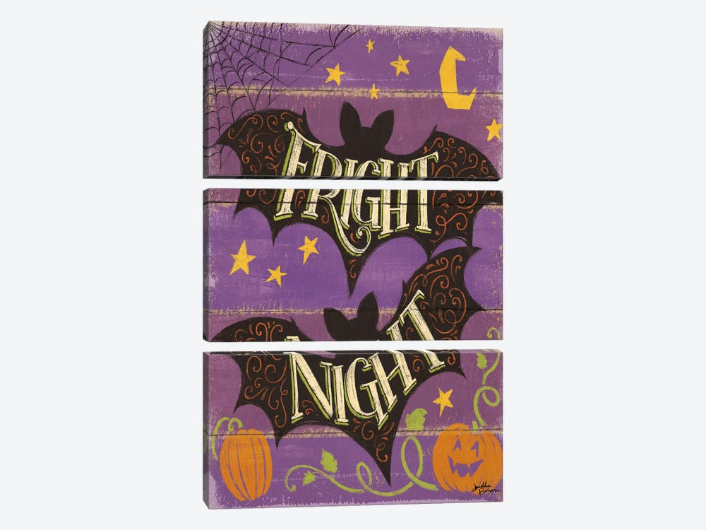 Fright Night III by Janelle Penner 3-piece Canvas Artwork