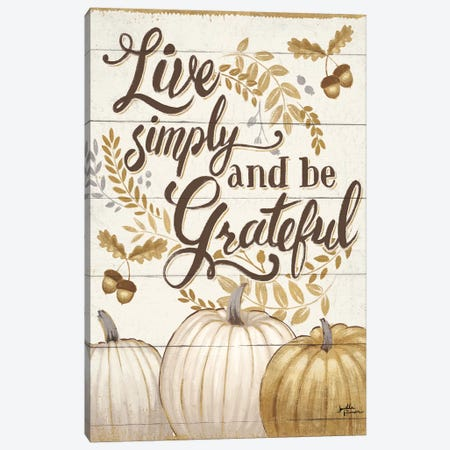Grateful Season I Canvas Print #WAC5845} by Janelle Penner Art Print