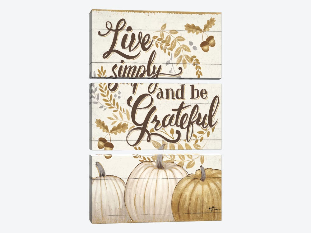 Grateful Season I by Janelle Penner 3-piece Canvas Artwork