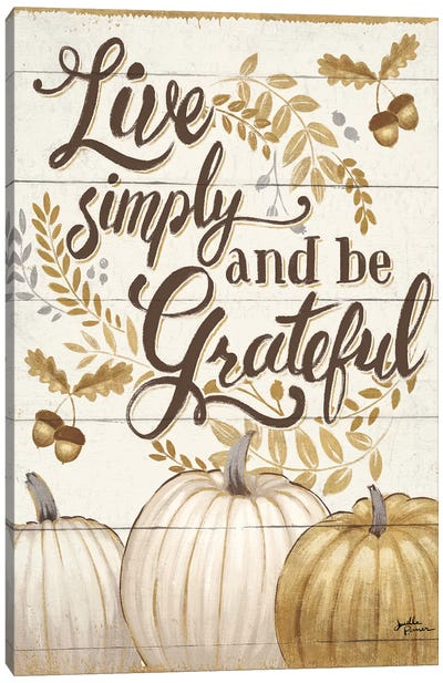 Grateful Season I Canvas Art Print