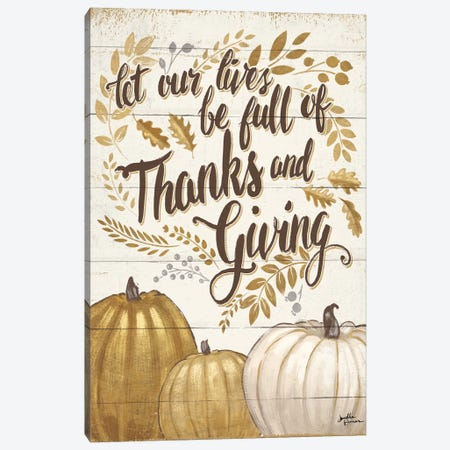 Grateful Season IV Canvas Print #WAC5848} by Janelle Penner Canvas Art