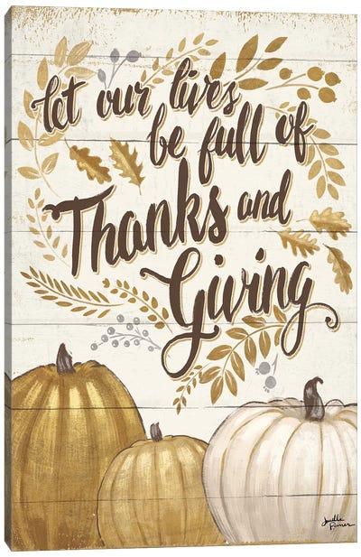 Grateful Season IV Canvas Art Print