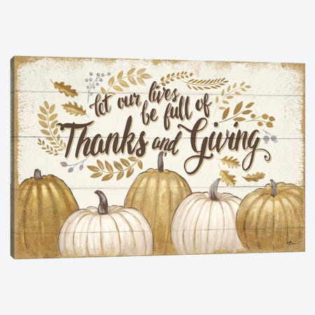 Grateful Season V Canvas Print #WAC5849} by Janelle Penner Canvas Art