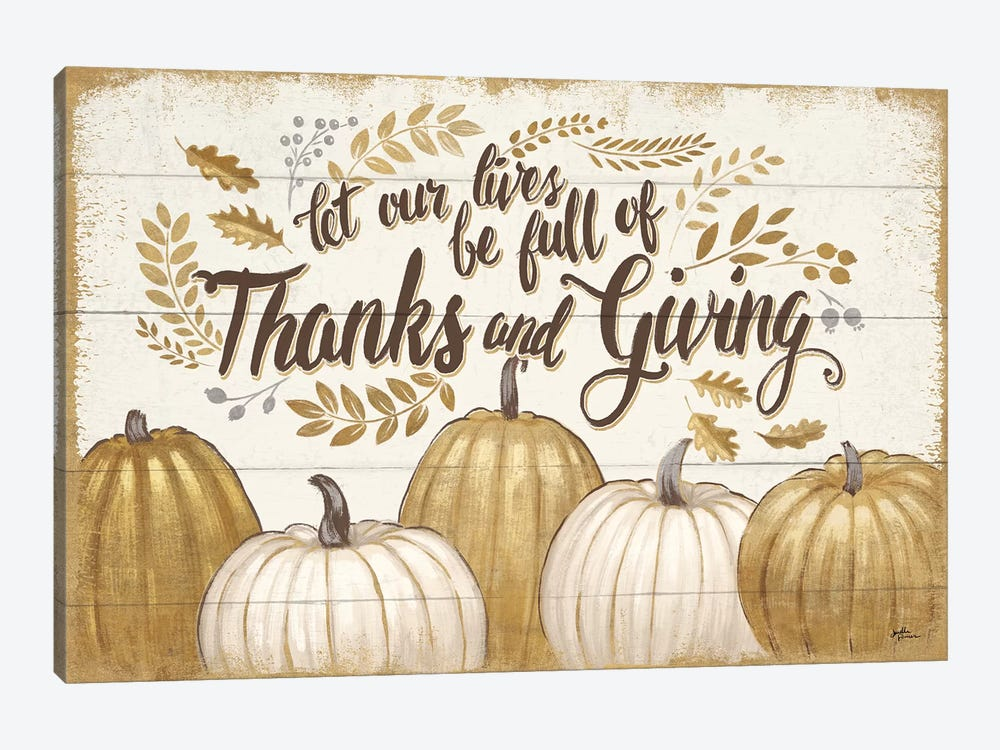 Grateful Season V 1-piece Canvas Wall Art
