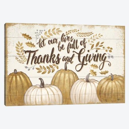 Grateful Season V Canvas Print #WAC5849} by Janelle Penner Canvas Art