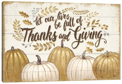 Grateful Season V Canvas Art Print