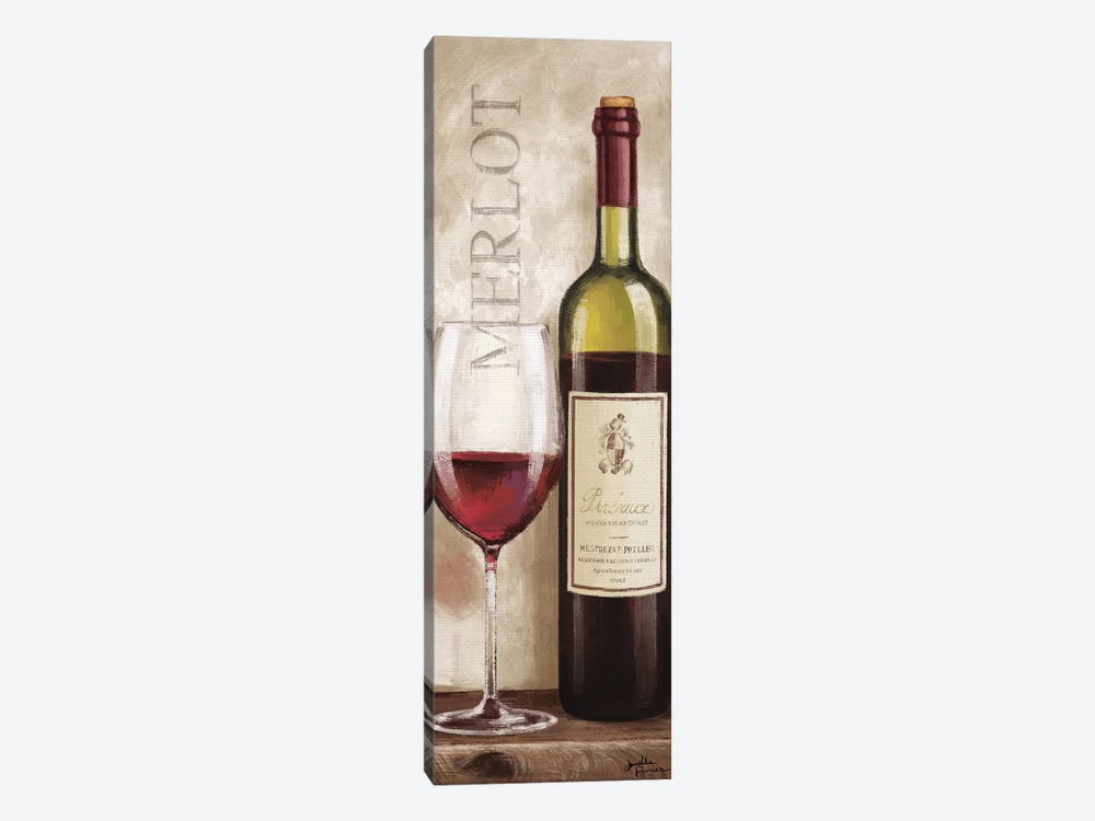 Wine In Paris V by Janelle Penner 1-piece Canvas Art