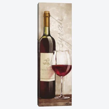 Wine In Paris VI Canvas Print #WAC5857} by Janelle Penner Canvas Artwork