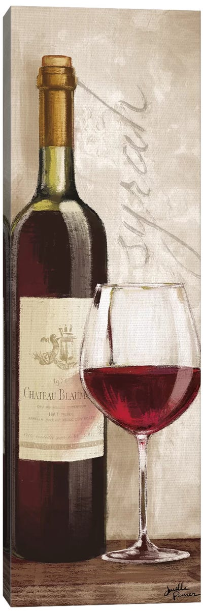 Wine In Paris VI Canvas Art Print