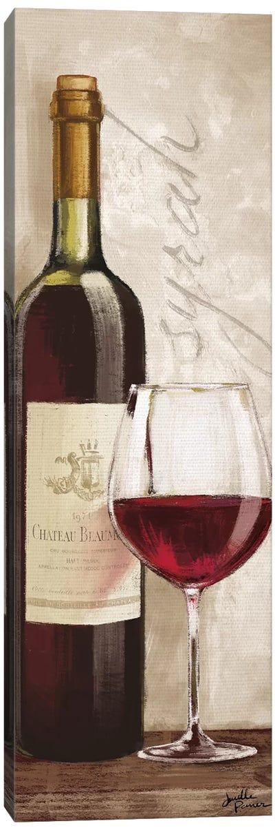 Wine In Paris VI Canvas Art Print
