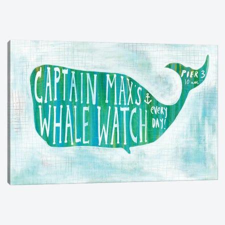 Ahoy I Canvas Print #WAC5858} by Melissa Averinos Art Print
