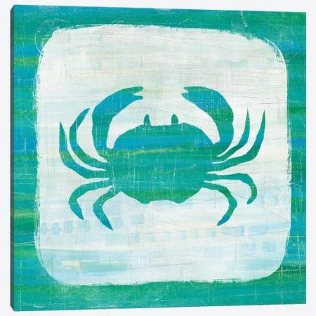 Ahoy V in Blue & Green Canvas Print #WAC5862} by Melissa Averinos Canvas Artwork