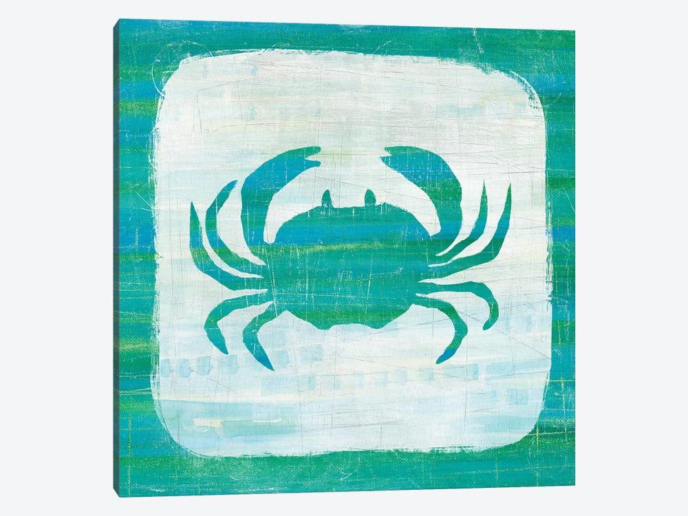 Ahoy V in Blue & Green by Melissa Averinos 1-piece Art Print