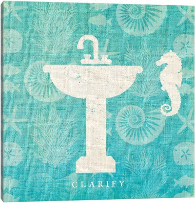 Pacific Bath II Canvas Art Print