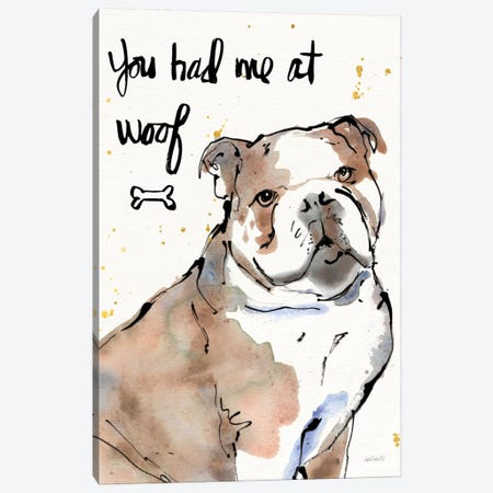 Strike A Paws I Canvas Print #WAC5867} by Anne Tavoletti Art Print