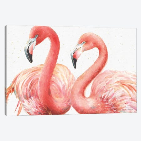 Gracefully Pink I Canvas Print #WAC5875} by Lisa Audit Canvas Artwork