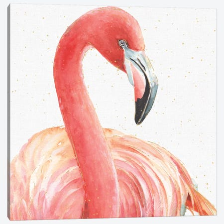 Gracefully Pink II Canvas Print #WAC5876} by Lisa Audit Canvas Artwork