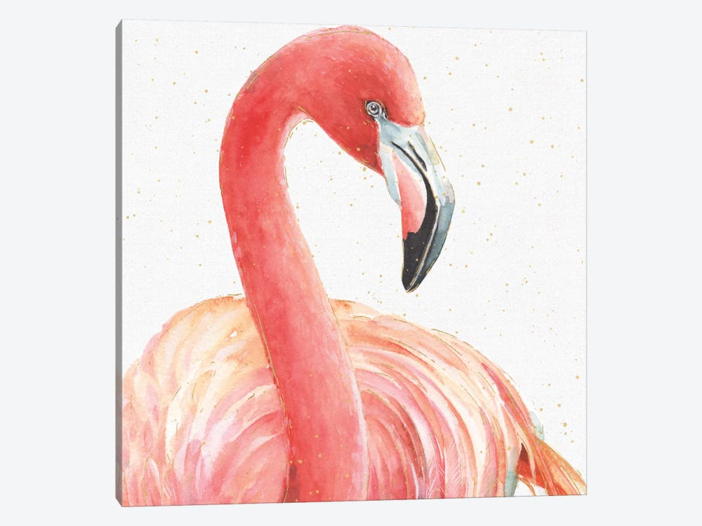Gracefully Pink II by Lisa Audit 1-piece Canvas Wall Art